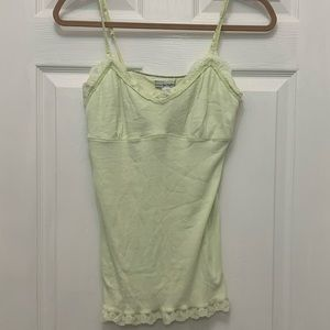 American Eagle Outfitters Tops - American Eagle - Lime Green Ribbed Tank Top
